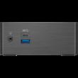 "GIGABYTE PC BRIX, Intel Celeron J4105 2.5 GHz, HDMI, MiniDisplayport, LAN, WIFI, Bluetooth, 2,5"" HDD hely, USB 3.0"