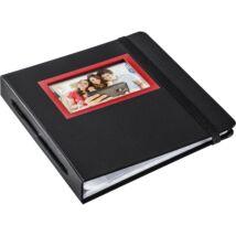 HP Sprocket Album Red and Black