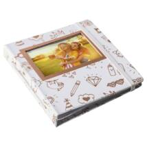 HP Sprocket Album Gold and White