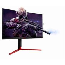 "AOC Ívelt Gaming 165Hz monitor 27"" - AG273QCG, 2560x1440, 16:9, 400 cd/m2, 1ms, HDMI, DisplayPort, USB3.0x4"