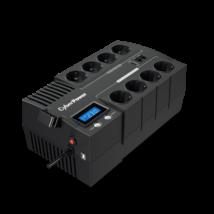 CYBERPOWER UPS BR700ELCD (8 aljzat) 700VA 420W, 230V szünetmentes elosztósor + USB LINE-INTERACTIVE