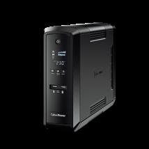 CYBERPOWER UPS CP1500EPFCLCD (6 aljzat) 1500VA 900W, 230V szünetmentes tápegység +2 USB LINE-INTERACTIVE