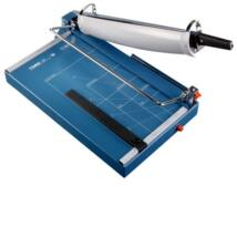 DAHLE Papírvágó 567, A4, 35 lap 70gr) - (Commercial-quality guillotine with manual D-bar clamp)