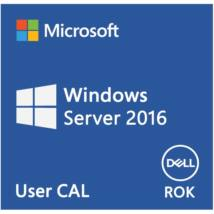 DELL EMC szerver CAL - MS Windows Server 2016 Std., 10 User CAL, ROK, English.