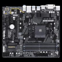 GIGABYTE Alaplap AM4 AB350M-DS3H V2 AMD B350, mATX