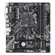 GIGABYTE Alaplap AM4 B450M DS3H AMD B450, mATX
