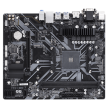 GIGABYTE Alaplap AM4 B450M S2H AMD B450, mATX