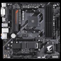 GIGABYTE Alaplap AM4 B450 AORUS M AMD B450, mATX