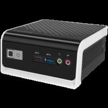"GIGABYTE PC BRIX, Intel Celeron J4105 2.5 GHz, HDMI, D-Sub, LAN, WIFI, Bluetooth, 2,5"" HDD hely, USB 3.0"