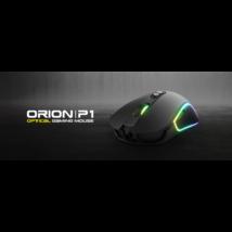 KWG vezetékes gaming egér ORION P1 RGB