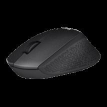 LOGITECH Egér - M330 Wireless Optikai Silent Plus Fekete