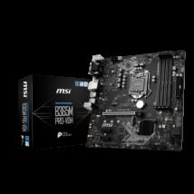 MSI Alaplap S1151 B365M PRO-VDH Intel B365, mATX