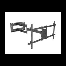 """Multibrackets Long Reach 1010 mm fali konzol, karos. dönthető, forgatható 42""""-75"""", fekete"""