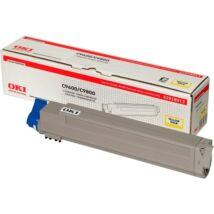 OKI Toner C9600/9800 sárga