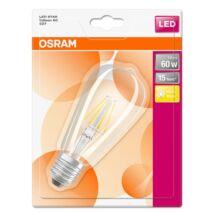 OSRAM LED STAR EDISON ÜVEG FILAMENT 60 non-dim 7W/827 E27
