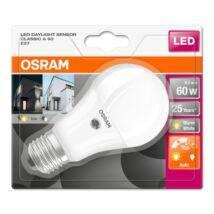 Osram Star+ 8,5 W/827 60 E27 806 lumen fényérzékelős matt LED körte izzó