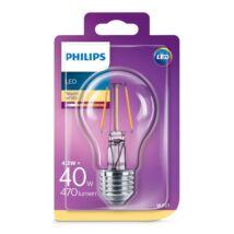 PHILIPS Consumer LEDClassic izzó 4-40W A60 E27 827 CL ND