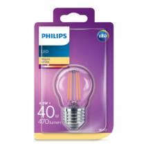 PHILIPS Consumer LEDClassic luster 4-40W P45 E27 827 CL ND