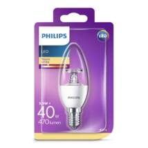 PHILIPS Consumer LED candle 5.5-40W B35 E14 827 CL ND