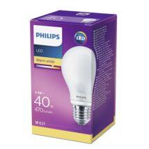 PHILIPS  LED Classic izzó 5-40W A60 E27 827 FR ND