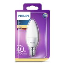 PHILIPS LED gyertya 5.5-40W B35 E14 827 FR ND