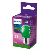 Philips LED colored P45 E27 GREEN 1BC/6