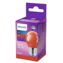 Philips LED colored P45 E27 RED 1BC/6