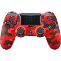 SONY PS4 Kiegészítő Dualshock 4 V2 kontroller Red Camouflage