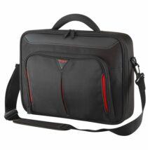 "TARGUS Notebook táska CN414EU, Classic+ 14"" Clamshell Case - Black/Red"