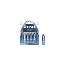 TESLA elem, Silver, AA LR06 Alkáli, bliszter / 4db
