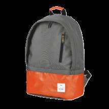 """TRUST NB Táska, Backpack 16"""" laptophoz - Narancs/Szürke"""