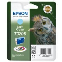 Epson T0795 Patron Light Cyan 11ml (Eredeti)