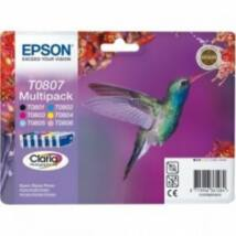 Epson T0807 Patron Multipack 7,4ml (Eredeti)
