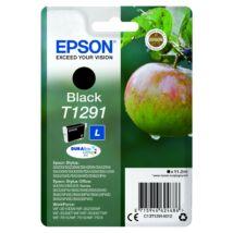 Epson T1291 Patron Black 11,2ml (Eredeti)