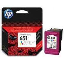 HP C2P11AE Patron Tri-Col No.651 (Eredeti)