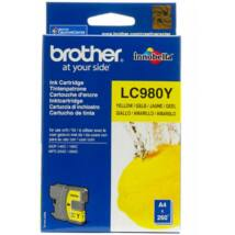 Brother LC980Y tintapatron (Eredeti)