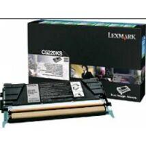 Lexmark C52x/53x Return Toner Black 4K (Eredeti) C5220KS