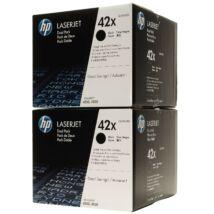 HP Q5942XD Toner Black 2x20k No.42XD (Eredeti)