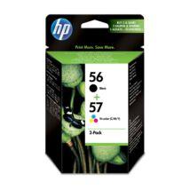 HP SA342AE Patron Bk+Tri Col.No.56/57 (Eredeti)