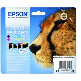 Epson T0715 Patron Multipack (Eredeti) C13T07154012