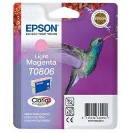 Epson T0806 Patron Light Magenta 7,4ml (Eredeti) C13T08064011