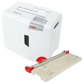 HSM Shredstar S10 iratmegs + HSM TA3200 körkéses vágógép HSMS10TA3200