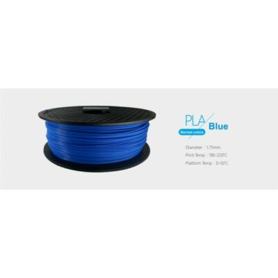 3D FILAMENT 1,75mm PLA Kék /1kg-os tekercs/