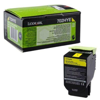 Lexmark CS310/410/510 High Corporate Toner Yellow 3K (Eredeti) 70C2HYE