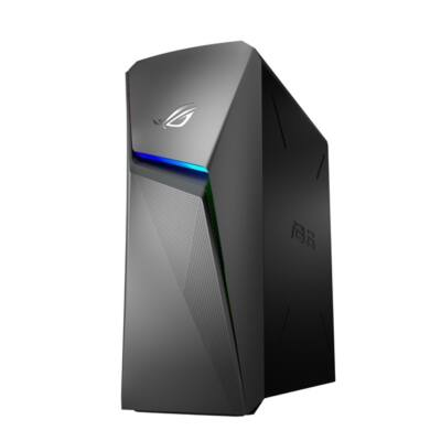 ASUS PC ROG GL10CS-HU014T, Intel Core i5-9400 (2,9GHz), 8GB, 512 PCIE SSD, RTX 2060 6GB, WIN10, Plexi oldallap!