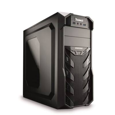 CHS PC Barracuda, Core i5-8400 2.8GHz, 8GB, 240GB SSD, DVD-RW, Egér+Bill