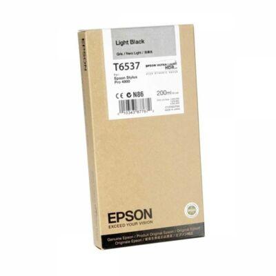 EPSON Patron T6537 Light Black Ink Cartridge (200ml)