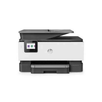 HP Tintasugaras MFP NY/M/S/F Officejet Pro 9010 USB/Háló/WLAN, A4 22lap/perc FF(ISO), 4800x1200, Síkágyas, ADF