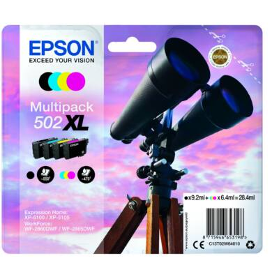 Epson T02W6 Patron Multipack 502XL (Eredeti)