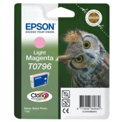 Epson T0796 Patron Light Magenta 11ml (Eredeti)